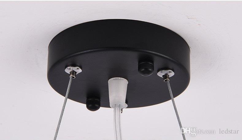 Lampadari a sospensione a LED ufficio moderno minimalista moda studio ristorante appeso linea di illuminazione lampade illuminazione commerciale