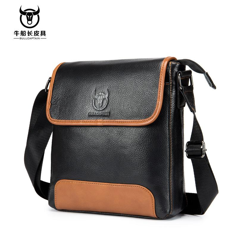 2f867dcb7152 Cow Genuine Leather Messenger Bags Men Travel Business Crossbody Shoulder  Bag For Man Handbags Messenger Small Men Cow Leather Cheap Designer Bags  Satchel ...