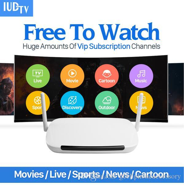Europe IPTV Box UK Sweden French Arabic IPTV Box with Free 1 Year IUDTV  Subscription ,TV channel watching is Pixels 480P Pixels ,720P, Pixe