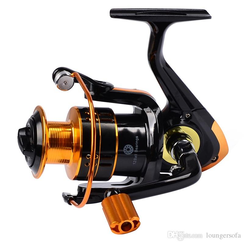 Metal 12BB REB 1000 Spinning Fishing Reel Practical Lightweight Catch Fishes Tools With Left And Right Handle Reels Hot Sale 39sb ZZ