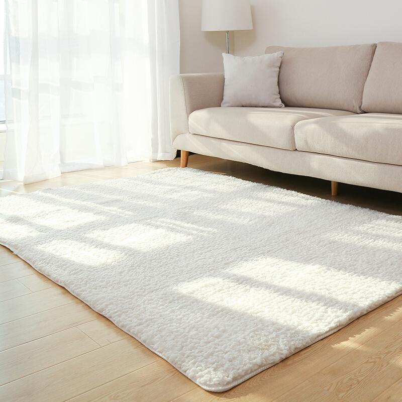 Grosshandel Wohnzimmer Teppich Bereich Solider Teppich Flaumiger