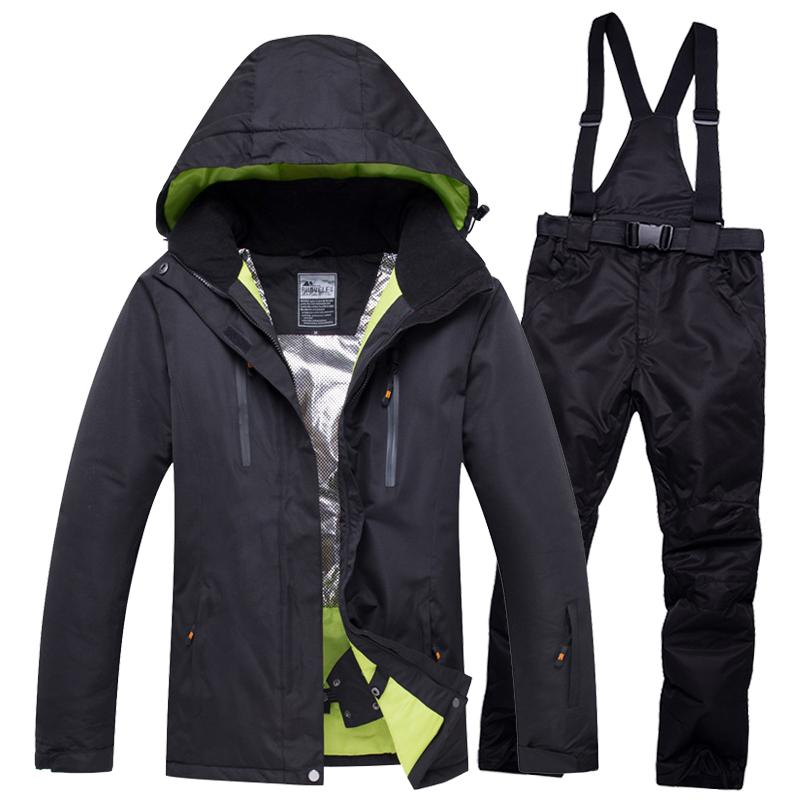6b2d0f475b 2019 Winter Outdoor Lover Men And Women Windproof Waterproof Thermal Male Snow  Pants Sets Skiing And Snowboarding Ski Suit Men Jacket From Pearguo
