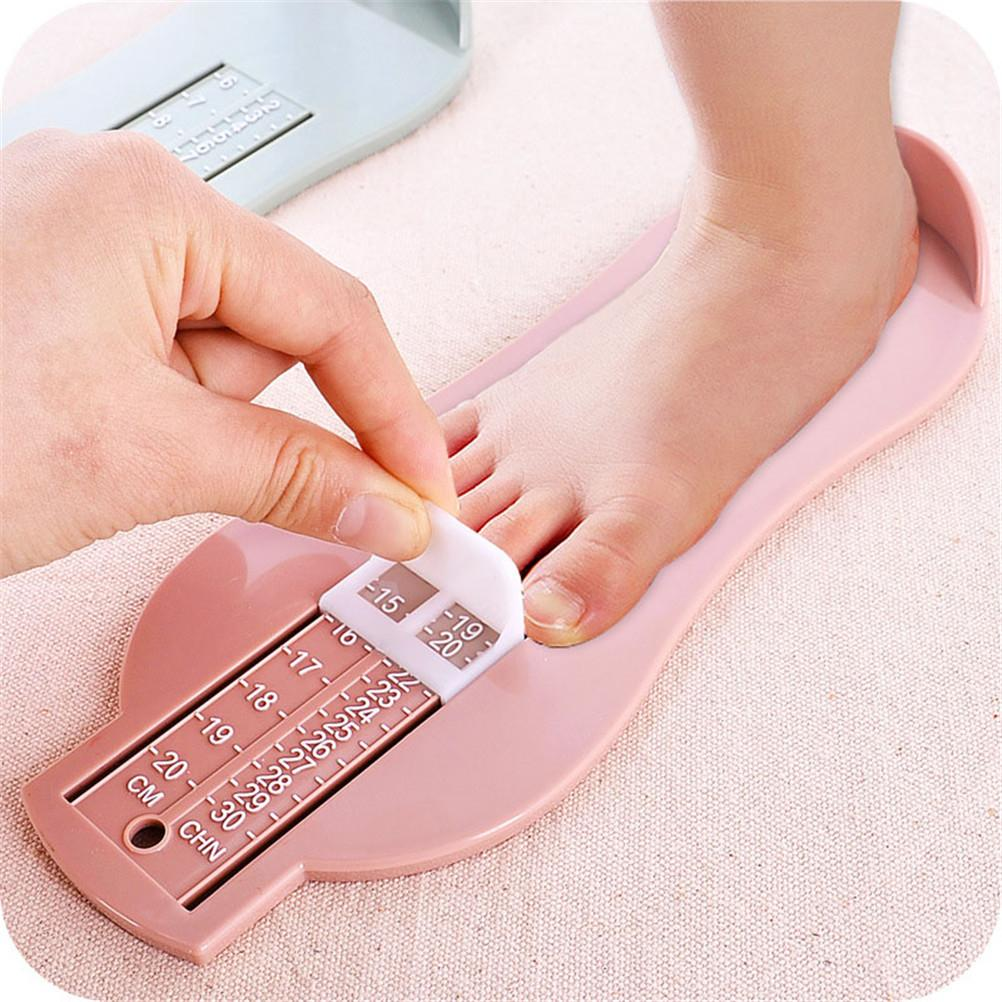 Infant Toddler Gauge Shoes Size Measuring Ruler Baby Child Foot Measurer 0-20cm