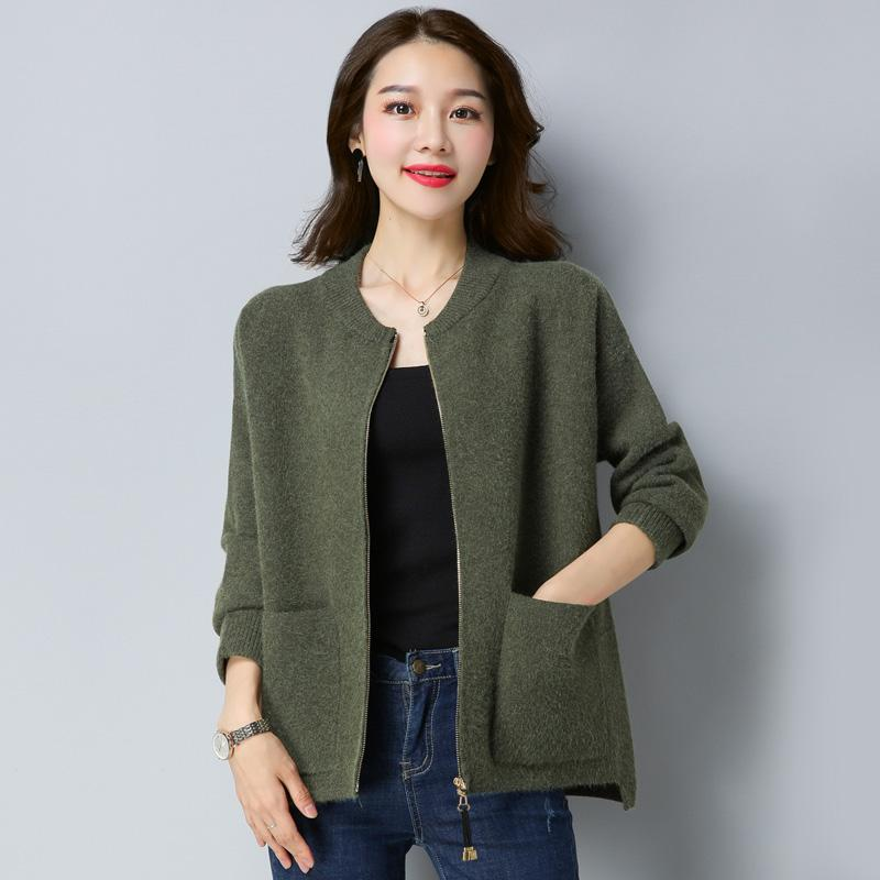 e9380aa141a High Quality Large Size Maternity Autumn Winter Cardigans Sweater ...