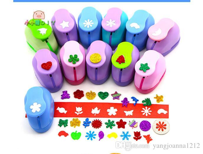 M Size DIY Flower Punch Craft Craft Hole Puncher Kids Handmade Scrapbook Paper Cutter Punches Embossing Device Student Supplies