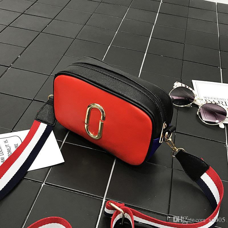 eed320c788 Designer Women Crossbody Bag Female Flap Package Small Girls PU Leather  Camera Package Hit Color Shoulder Bags 12xc Aa Messenger Bag Designer Crossbody  Bag ...