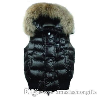 huge selection of 63e7b c3f0a Winter Daunenweste Frauen Daunen Marke Designer Westen Hoodies Ärmellose  Jacke Luxus Warm für Damen Damen Outwear Sale