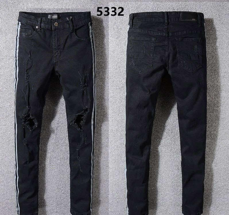 a74d88286 2019 2018 New Famous Brand Jeans Men Fashion Design Ripped Biker Pants Top  Quality Big Size Hot Sale 04 From Zy100863