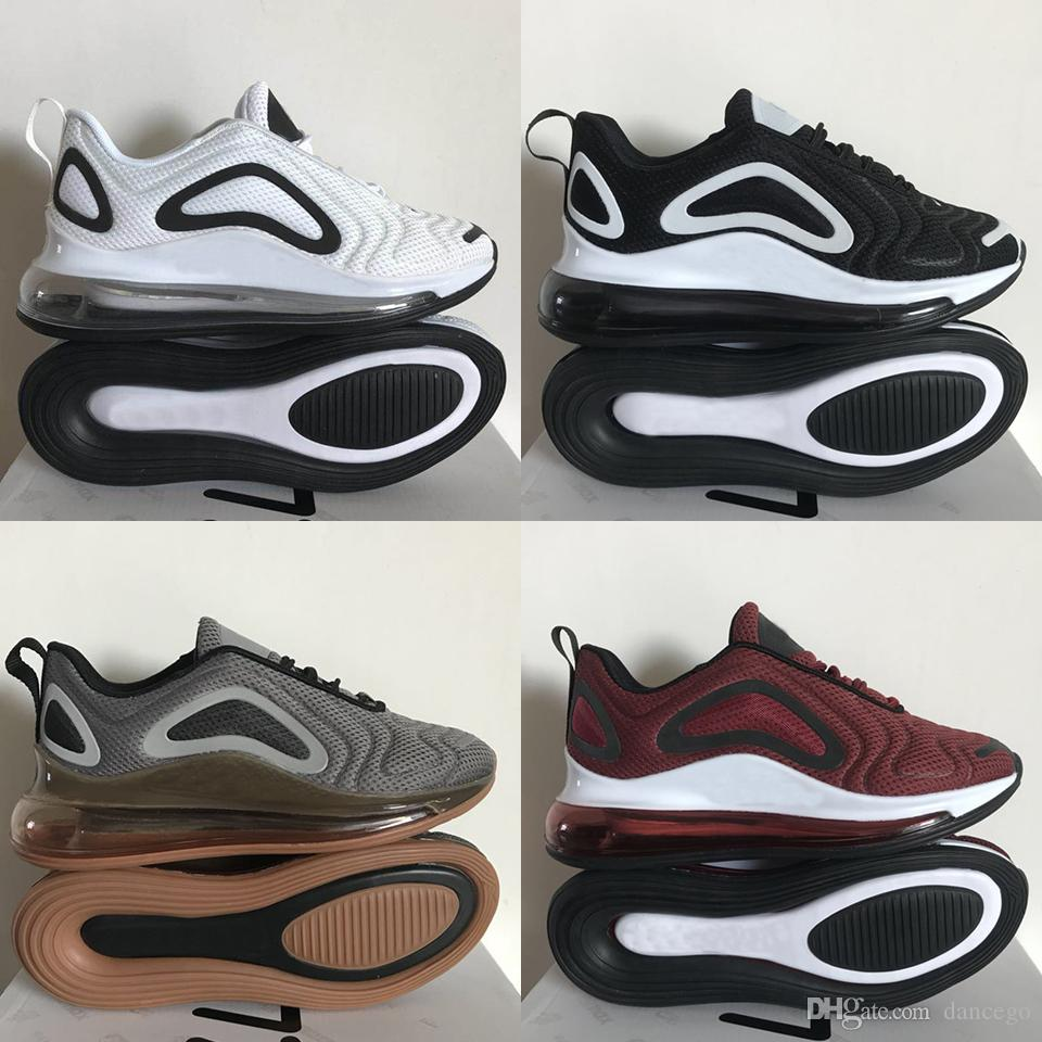4c0e88a7fef 2019 New Arrival 720 Running Shoes Mens 2019 New 720 Air Cushion Runner  Sneakers Womens Triple Black White Desinger 720 Boots Size 36 45 From  Dancego