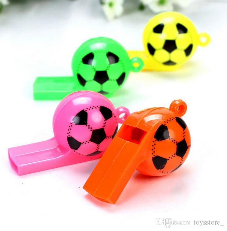 oyuncak malzemeleri Çocuk basketbol beyzbol futbol ve oyun oyuncaklar tezahürat Plastik futbol düdük Dünya Kupası futbol Amigo fanları