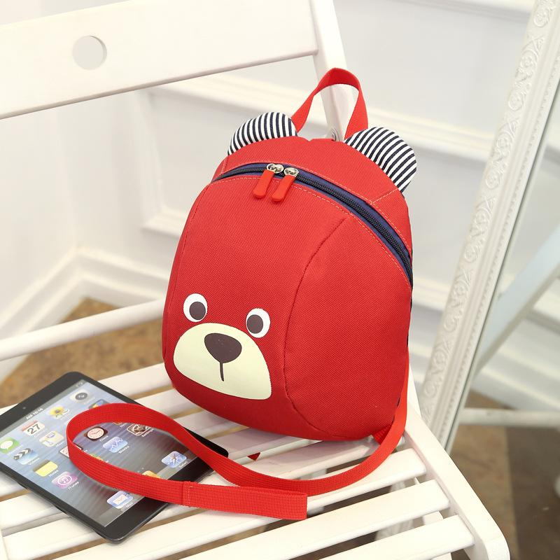 2aa510c2c95c Age 1-3 Toddler Backpack Anti-lost Kids Baby Bag Cute Animal Dog ...