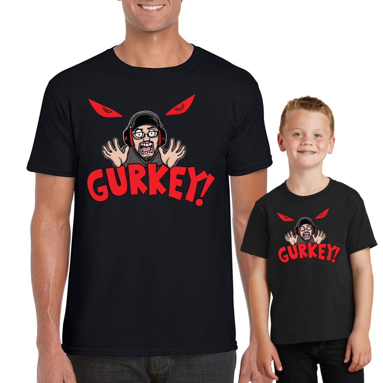 GURKEY Funnel Vision T-Shirt B80 FGTeeV Gaming Team Kids Top