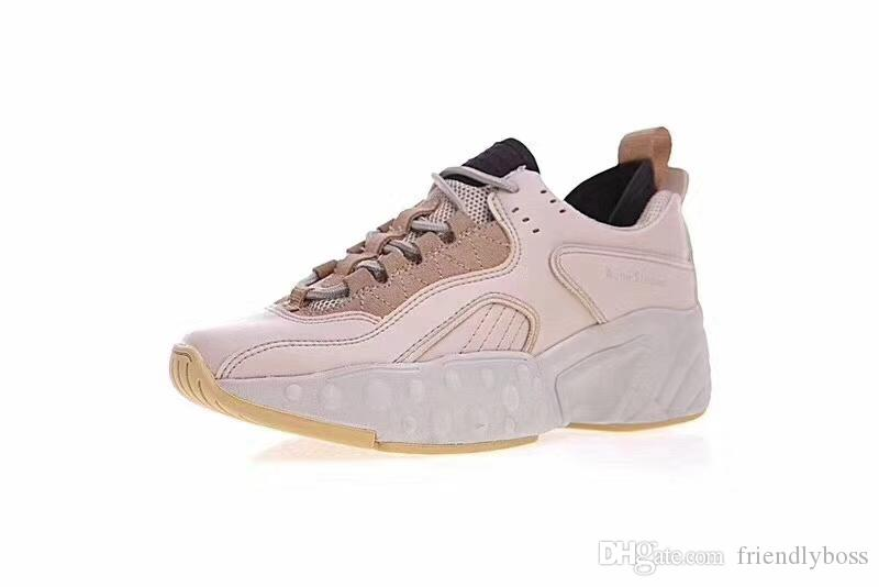 9ce023b6272e Acne Studios Manhattan Sneakers Ladies Fashion Breathable Trainers Platform  Shoes Women S Casual Shoes Deck Shoes Mens Boat Shoes From Friendlyboss