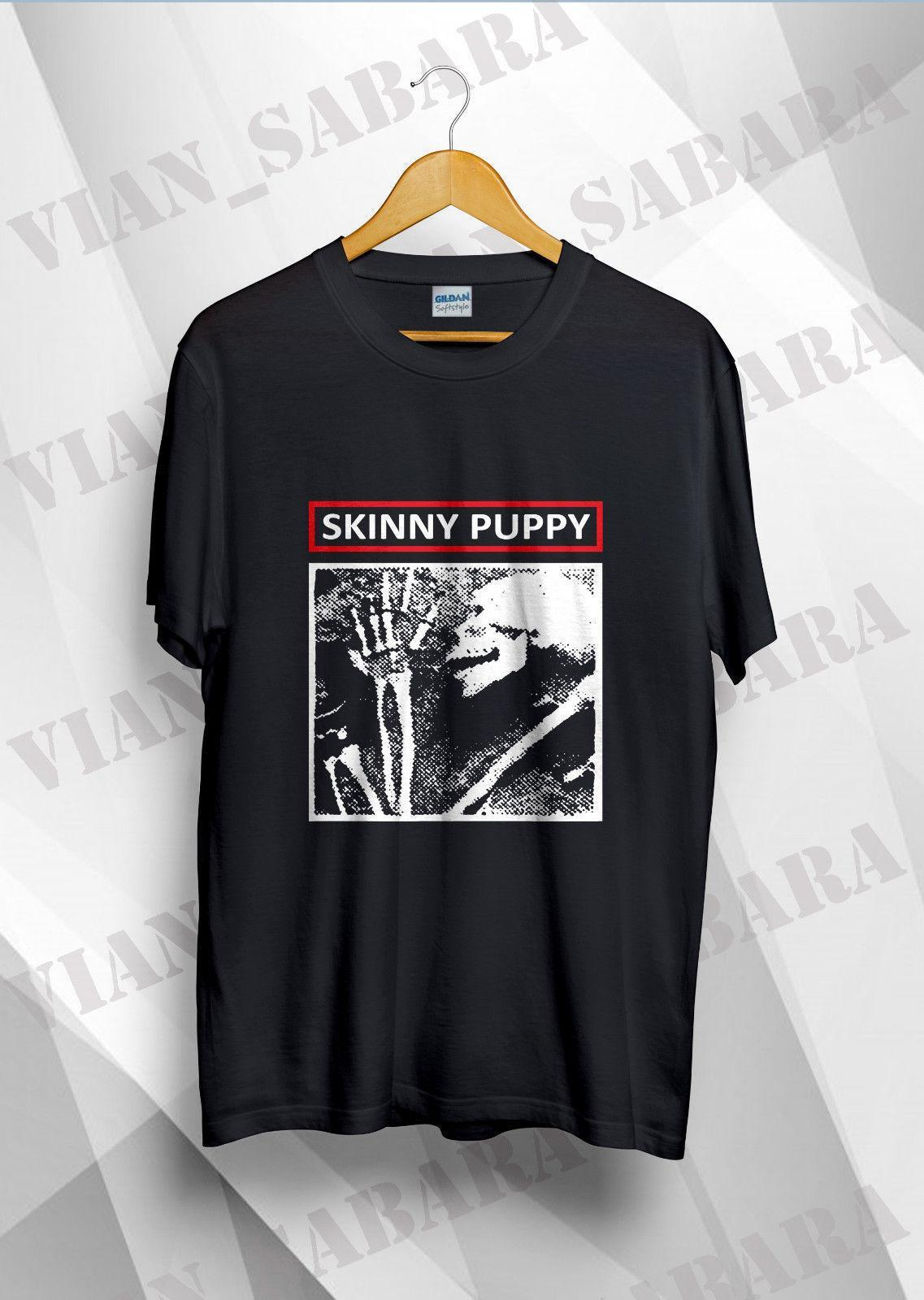 fab5d7da56cf Skinny Puppy Ministry Depeche Goth Siouxsie Vintage T Shirt Reprint Size S  2XL Funny T Shirts For Men Make T Shirts From Amesion99, $12.08| DHgate.Com