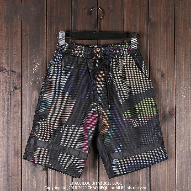7418a9d87b Compre Pantalones Cortos De Camuflaje De Verano De Los Hombres De Hip Hop  Street Shorts Moda Beach Mesh Bermuda Masculina A  37.92 Del Weikelai