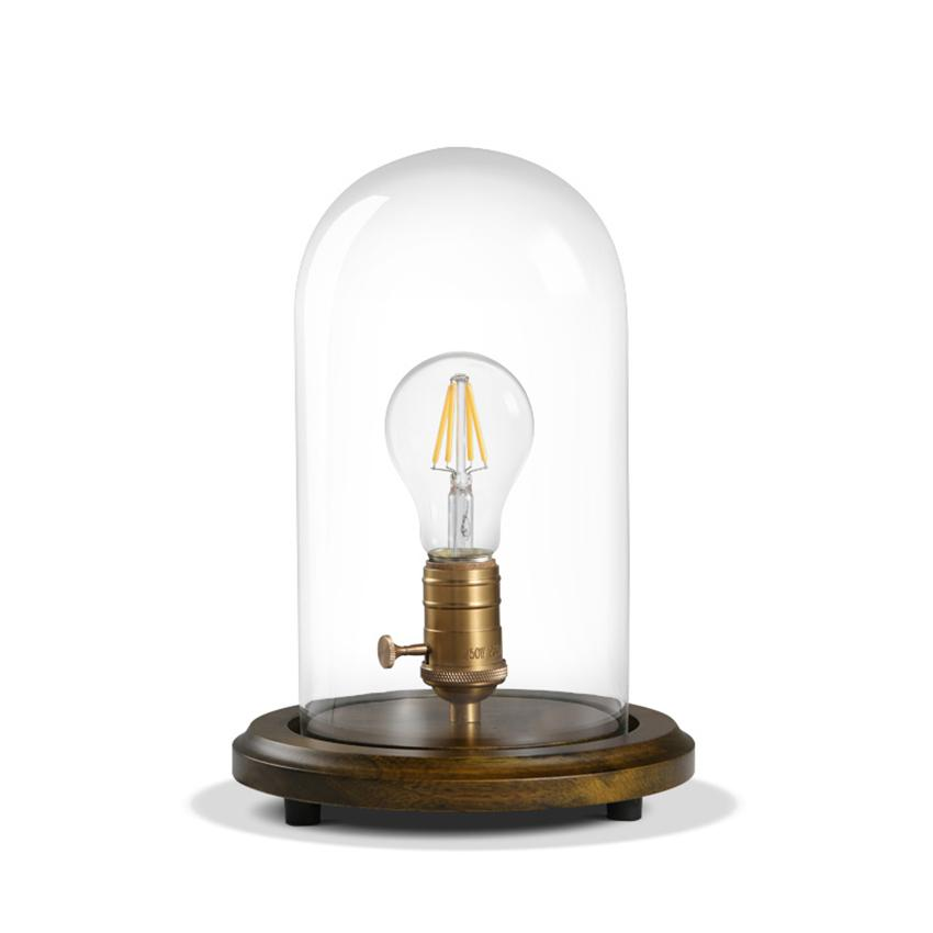 dimmer table lamp catellani and smith 2018 edison vintage dimmer table lamps loft solid wood desk lamp with glass shade american country room bedside light cafe home decor from kirke