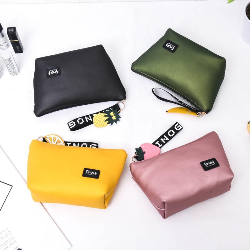 48e6aa4d97 Casual Travel Cosmetic Bag Women Zipper Make Up Makeup Case ...