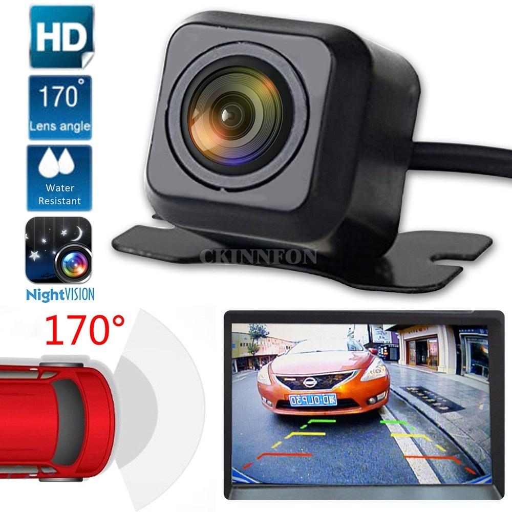 Car & Truck Parts Waterproof Car Rear View Reverse Backup Parking Camera Night Vision 170° Cmos Mouldings & Trim