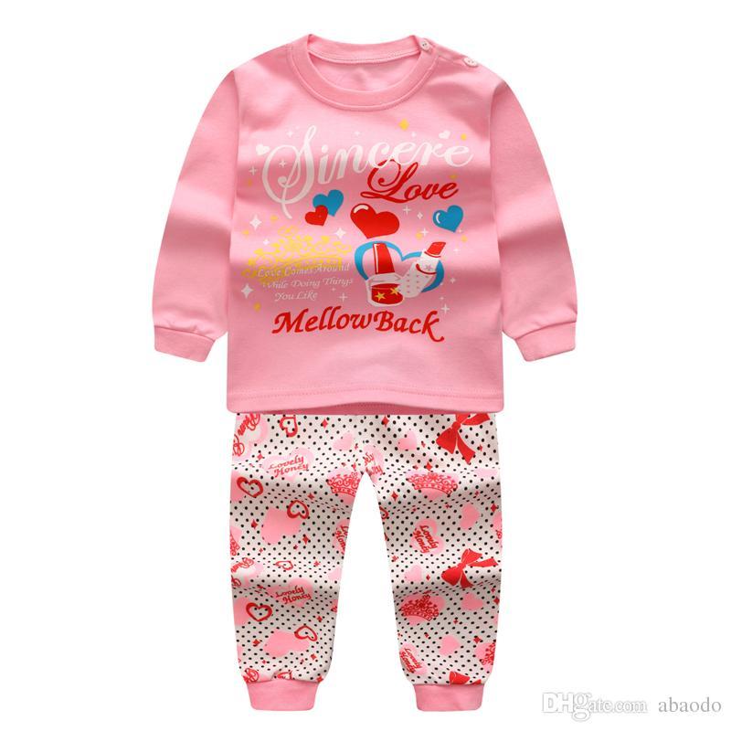 1f8876ec9304 AbaoDo Kids Underwear Clothing Set 100% Cotton Long Sleeve Baby ...