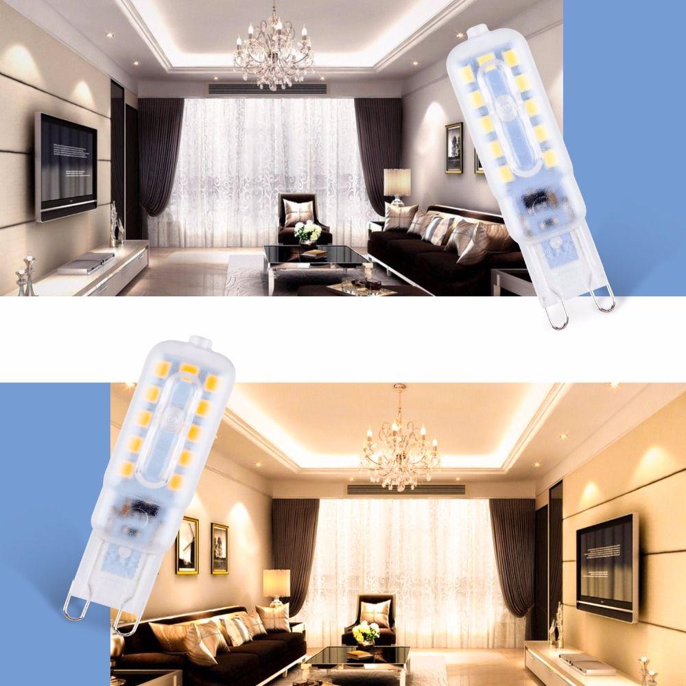 Charmant Compre G9 Bombillas Luces Led Para El Hogar 3W 5W G9 LED 220V Bombilla De  Maíz Mini Proyector 14 22leds SMD2835 Iluminación Reemplazar Lámparas  Halógenas A ...