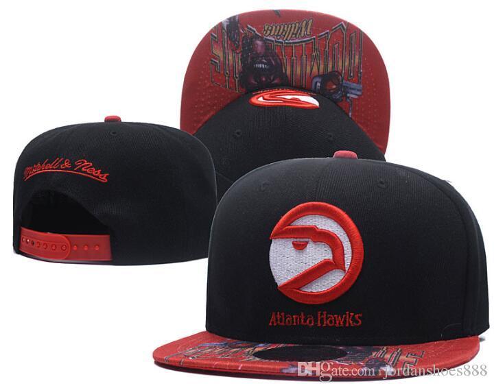 172d5d48 2019 New Top Quality Men s Atlanta hat Women baseball ATL cap Embroidered  logo Sport Adjustable Cap Cheap Flat Baseball Hats 00