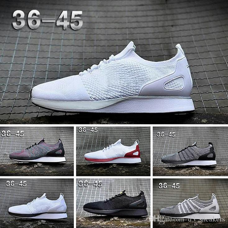 cheap for discount 0233a a877e Acheter Nike Flyknit Racer Be True Sneakers Vente Chaude 2018 Nouveau Racer  Womens Hommes Chaussures Décontractées Flywire Knit Racer 1.0 2.0 BE TRUE  ...