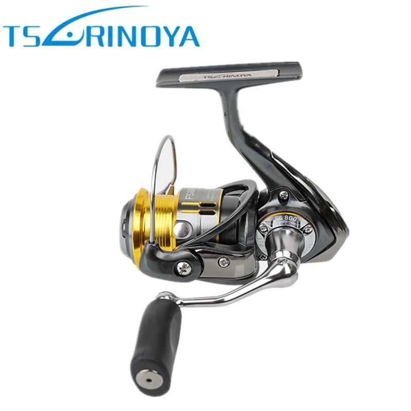 c448e0005a1 Tsurinoya FS 800/1000 Metal Spinning Fishing Reel 9+1BB/5.2:1/4kg Carretes  Pesca Saltwater Lure Reels Carretilha Moulinet Peche Y18100706