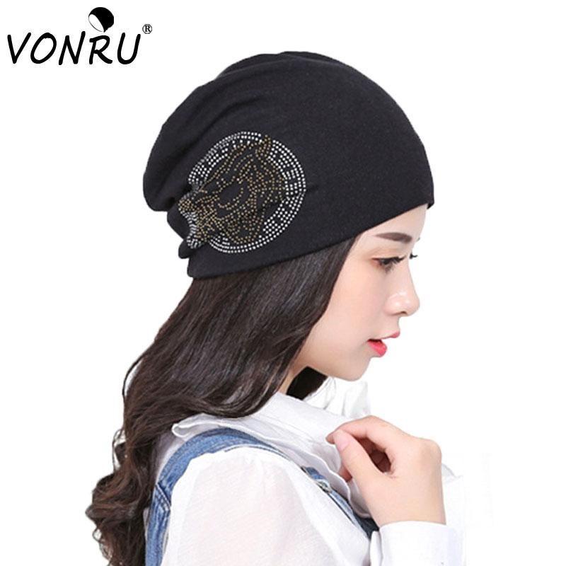 31625091622 Winter Women s Black Rhinestone Tiger Knitting Balaclava Polyester Beanies  Hat For Women Men Hip Hop Baggy Diamond Touca Hat Beanie Hats for Women  Beanie ...