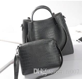 cbe9810edf Fashion PU Leather Big Shoulder Bags Women Chains Bag High Quality Ladies  Tote Bag Female Coin Purses And Handbags 2picLuxury Handbags Leather Handbag  From ...