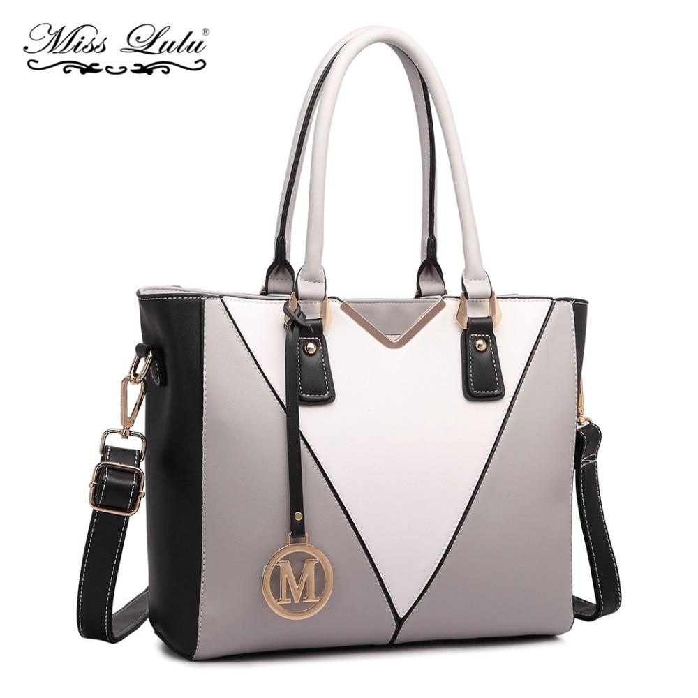 Miss Lulu Women Designer M Handbag Female Top Handle Bags Ladies Shoulder  Bag Cross Body Bags Girls Satchel Tote LG1641 Crossbody Bags Satchel From  ... dd7a22c86d424