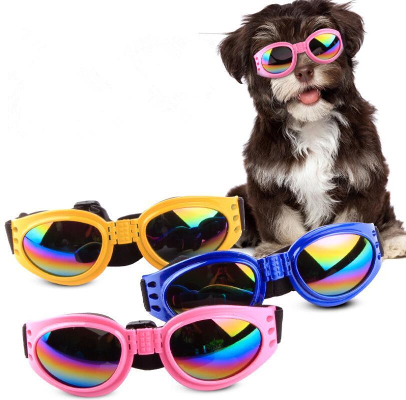 ac273dfc30 ... grandes Gafas plegables para mascotas Gafas de sol para perros para  perros pequeños, medianos, ...