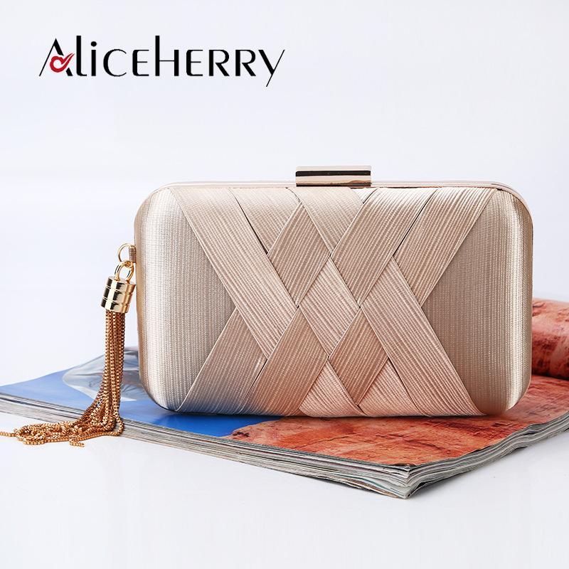 Luxury Silk Clutch Box Bags Women Crossbody Handbag Tassel Evening Party Purse  Bags Women S Designer Wedding Bag Bolsa Feminina Bags For Women Cute Purses  ... 3cf4073e9