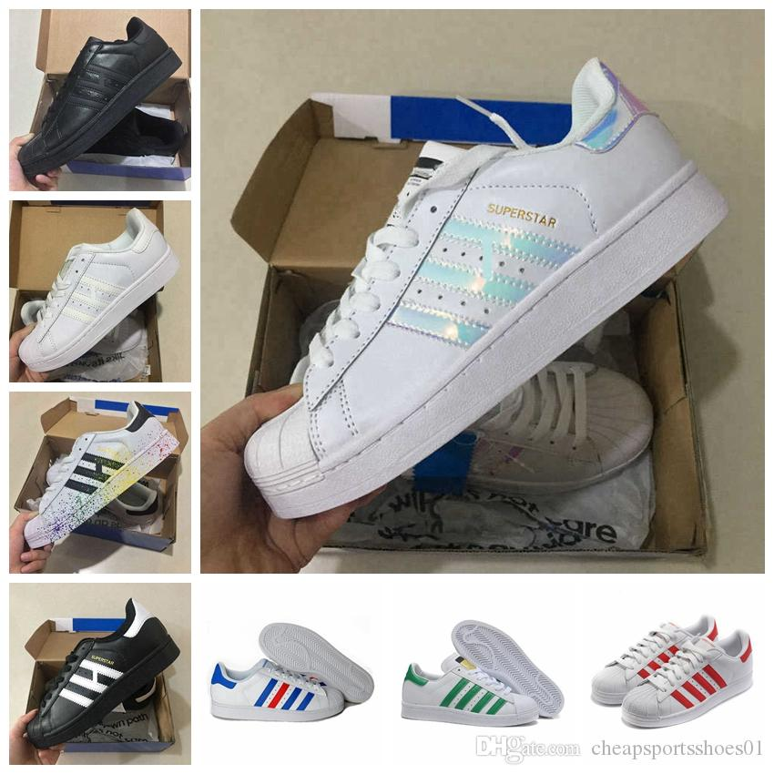 390139301 Großhandel Adidas Superstar Großhandel Laufschuhe Frauen Männer Billig  Kausal Sneaker Beste Neue Outdoor Shoes Discount Sport Turnschuhe A 7 7 Von  ...