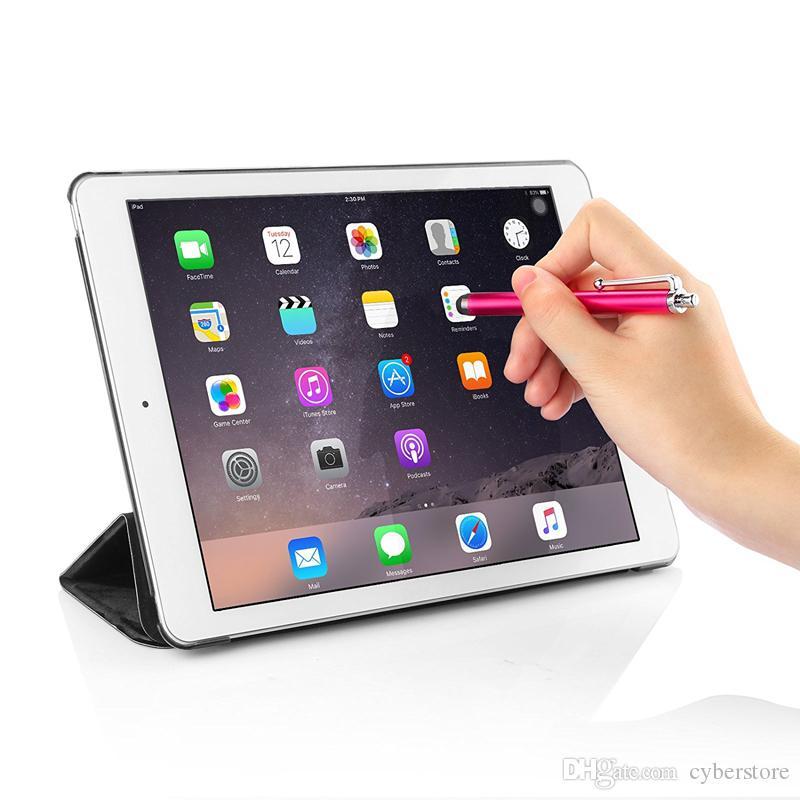 Cyberstore lápiz óptico de pantalla táctil capacitiva para el teléfono móvil universal del teléfono móvil de la tableta iPad de iPod del iPhone 5S 5 6 6plus