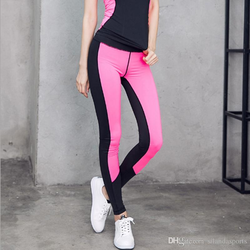 d72accf7bf 2019 Silanda Sports Women Fitness Leggings Elastic Pants For Yoga Gym Women  Sport Running Training Jogging Gym Performance Tights From Silandasports,  ...