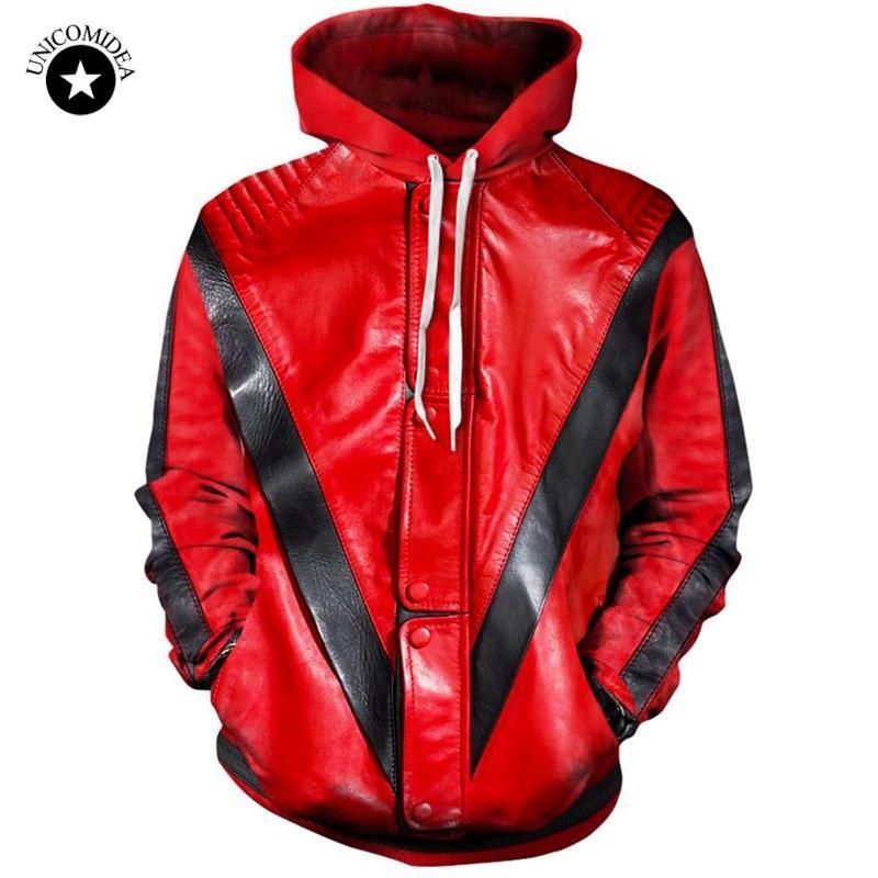 Compre 3d Sudaderas Con Capucha Hombres Mujeres Michael Jackson Thriller  Chaqueta De Impresión Sudadera Con Capucha Streetwear Tops Chándal Ropa  Para Hombre ... a034aba0b47