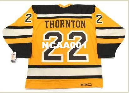 47e30f21218 2019 Mens #22 SHAWN THORNTON Boston Bruins 2010 CCM Vintage Winter Classic Hockey  Jersey Or Custom Any Name Or Number Retro Jersey From Ncaa001, ...