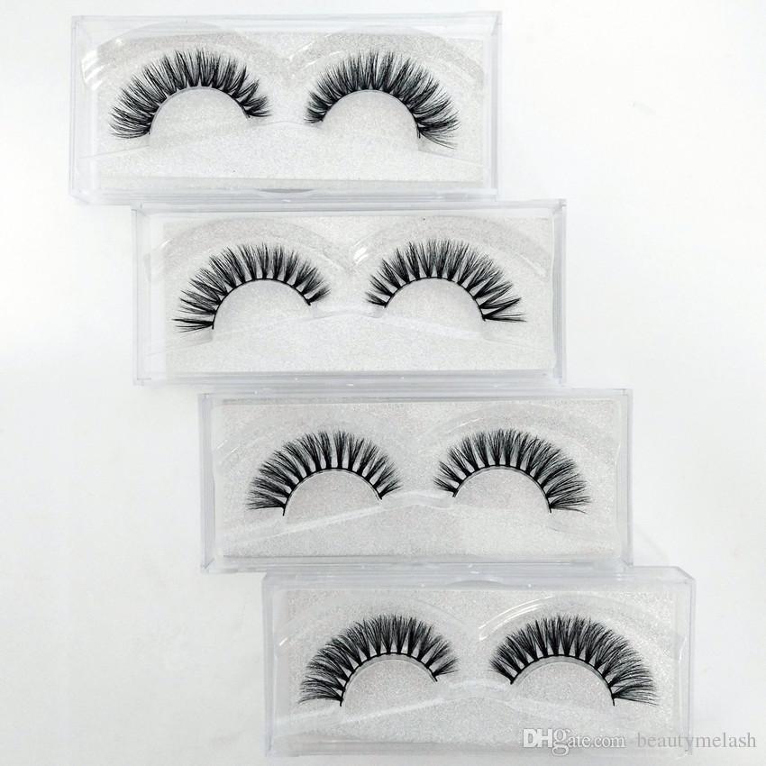 High-end Fake Eyelashes Lengthening Natural 3D Reusable short paragraph Handmade Makeup False Eyelashes Lashes Extensions Long Lash