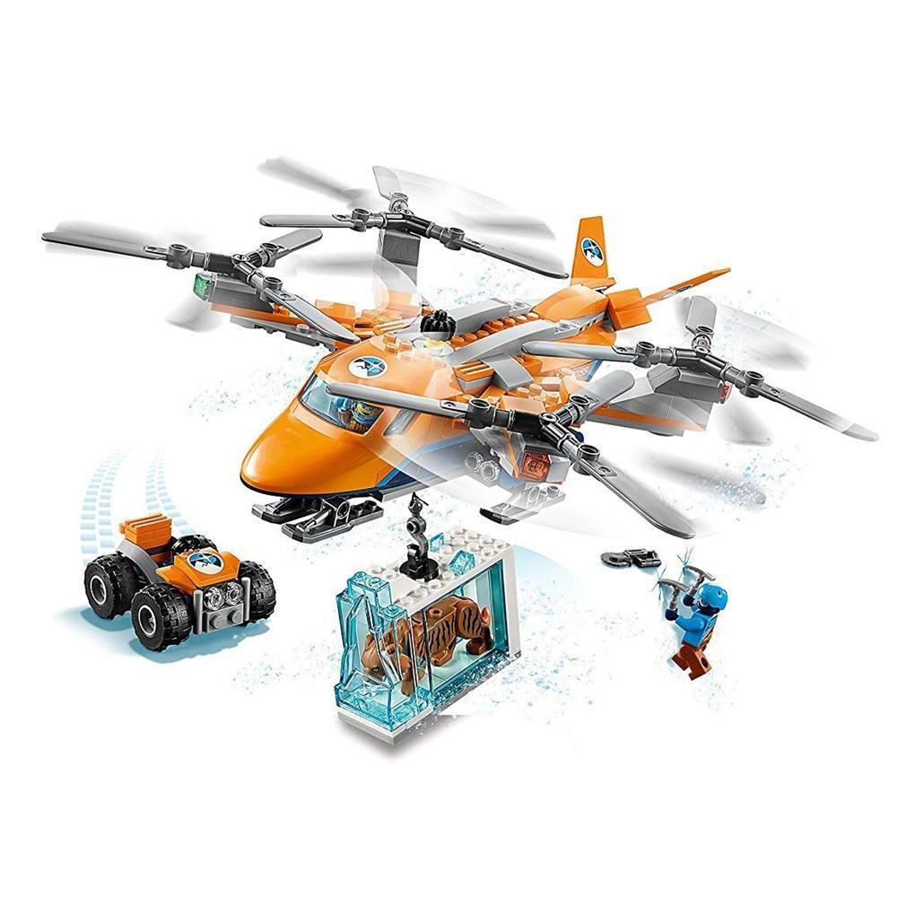 wholesale City Arctic Air Transport Building Blocks Kits Bricks Sets  Classic Model Toys Kids Gift Marvel Compatible Legoe