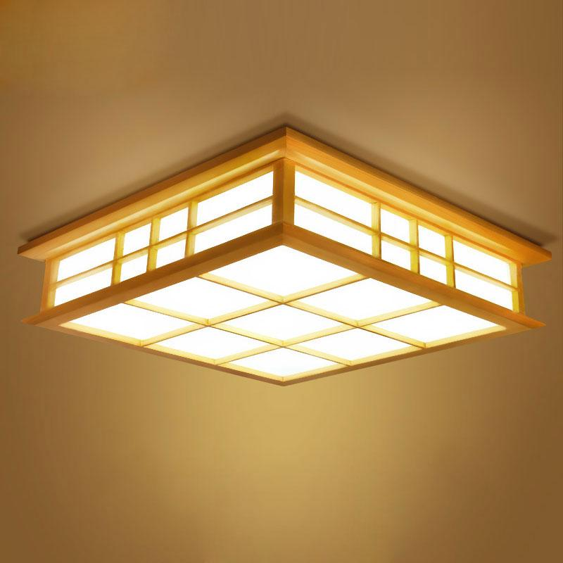 Ceiling Lights Japanese Style Tatami Lamp