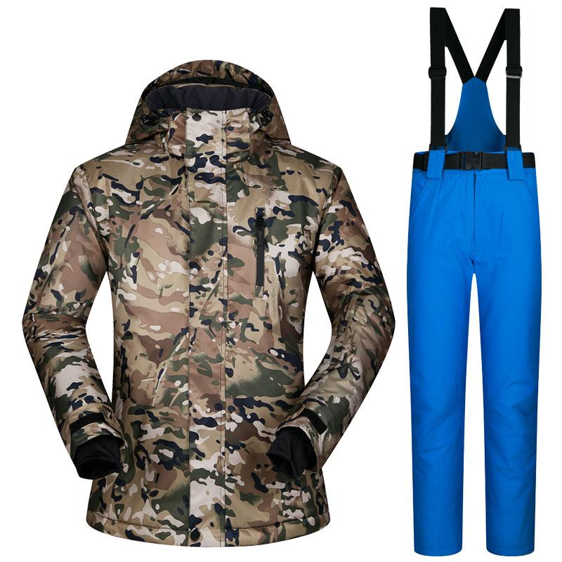 4f5a89fab 2019 Russia 30 Degrees Mens Snowboard Jacket And Pant Suit Winter Warm  Thicken Ski Clothing Sets Waterproof Snow Ski Jacket Pants From Suipao, ...