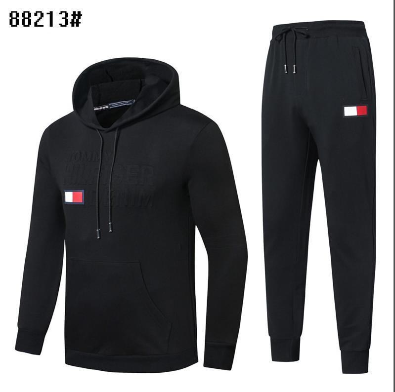 TR04 Designer Tracksuit Men Luxury Sweat Suits Autumn Brand Mens Tracksuits Jogger Suits Jacket + Pants Sets Sporting Suit Print men cotton