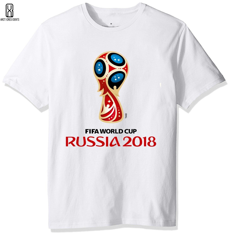 851526964d Compre Camiseta De La Copa Mundial De Los Hombres 2018 Camiseta De La  Impresión Creativa Del Hombre Camiseta Camiseta De La Copa Del Mundo De  Rusia Estrella ...
