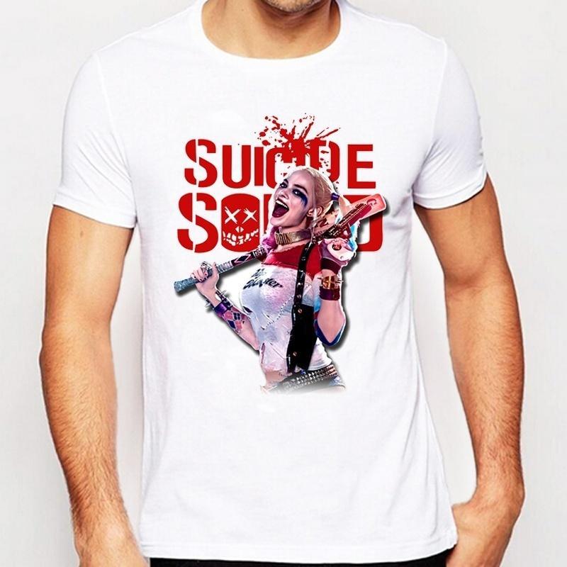 df6939913 Suicide Squad T Shirt Harley Quinn T Shirt Joker Cool Novelty Funny Hip Hop  Pop Tshirt Style Men Printed Fashion Hepeep Tee T Shirt 24 Hours Buy Cool  Shirts ...