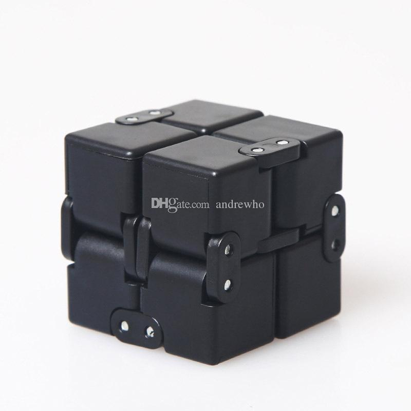 Infinity Cube Mini Fidget Toy Finger EDC Anxiety Stress Relief Magic Cube Blocks Adult Children Kids Funny Toys Best Gift DHL