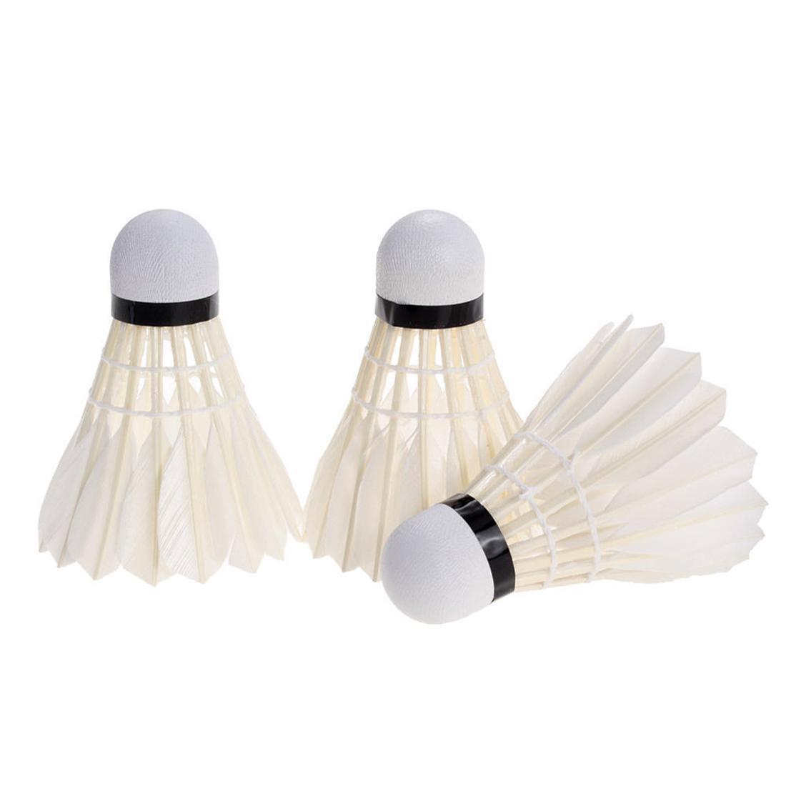 6 farbige Federbälle Badminton Federball Badmintonbälle Ball Bälle TOP Preis Badminton