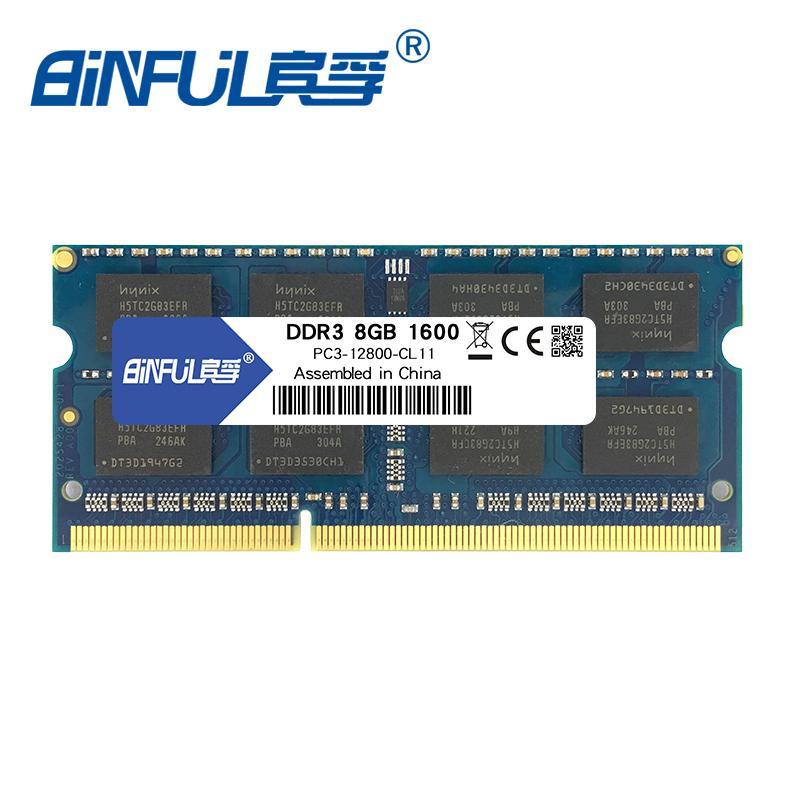 Compre Ram Para Laptop Binful Original Nuevo Ddr3 8gb 1333 Mhz