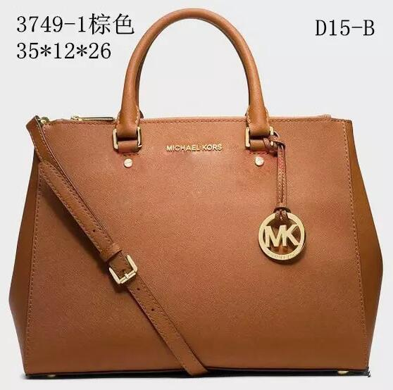 f0c45716edeb Michael Kors 2018 Famous Brand M K Totes bags luxury women Genuine leather  Bags Fashion lady Handbag Factory wholesale In Stock Real Image