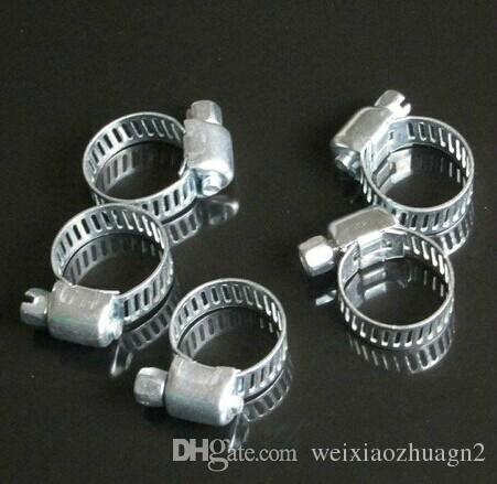Wholesale Price, Stainless Steel Hose Buckle / Water Pipe Clamps / Clips Compatible with 8-12mm Tube