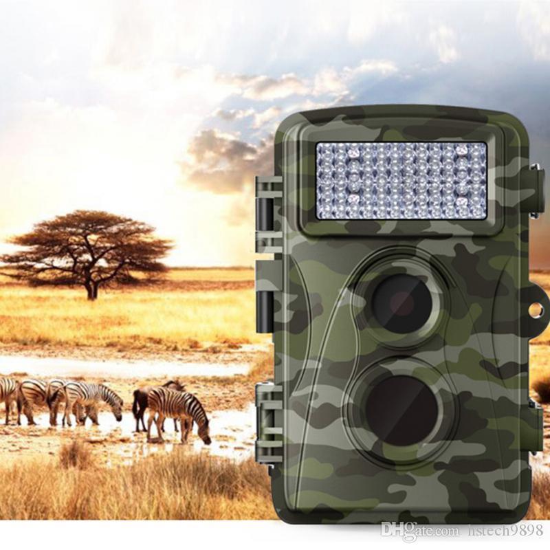 0,6 с Быстрая съемка H3 Без вспышки Охотничья камера Инфракрасная камера ночного видения След для наблюдения Видеокамеры Дикая природа IR PIR MotionDetection